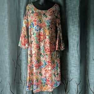 Agnes & Dora Walker Dress Floral Bloom Pockets